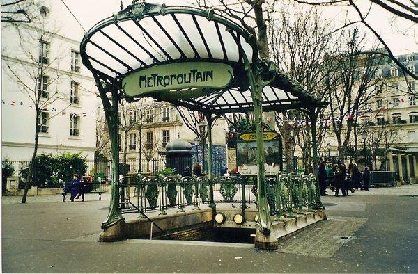 Ар-Нуво в Париже - Архитектурный маршрут по Парижу - лучшие архитектурные достопримечательности Парижа с фото, различные архитектурные стили Парижа, путеводитель по городу